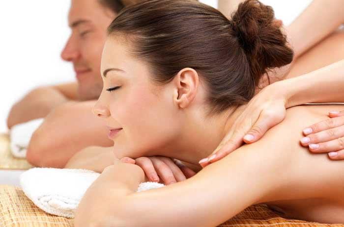 massaggio di coppia alle Terme Pompeo