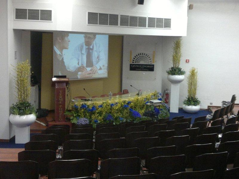 Sala auditorium Terme Pompeo