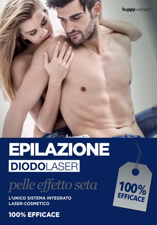 L'epilazione Diodo Laser è disponibile presso il Beauty Terme Pompeo