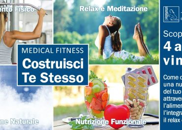 Medical Fitness Terme Pompeo: COSTRUISCI TE STESSO!